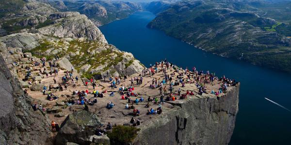 Pulpit Rock (Preikestolen) Lysefjord Norway