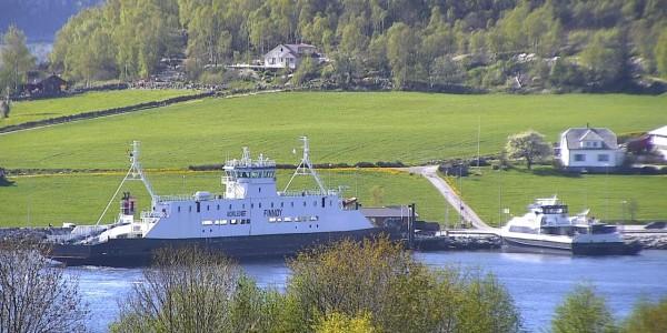 Oanes ferry quay