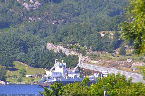 Lauvvik ferry quay